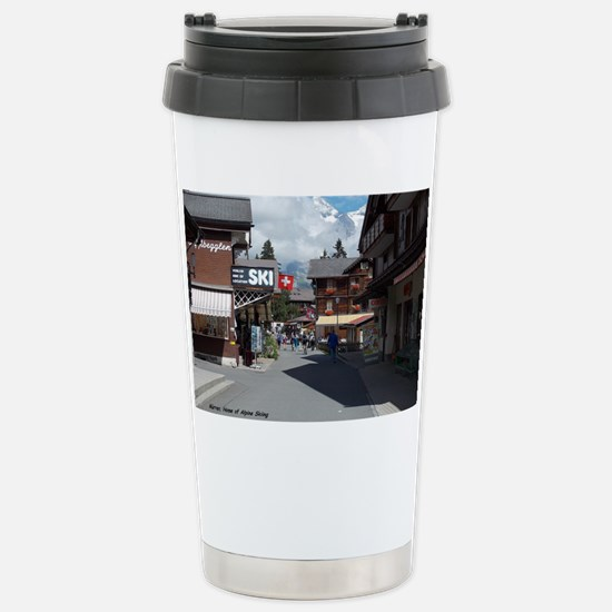 Murren, Switzerland Stainless Steel Travel Mug