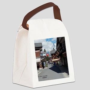 Murren, Switzerland Canvas Lunch Bag