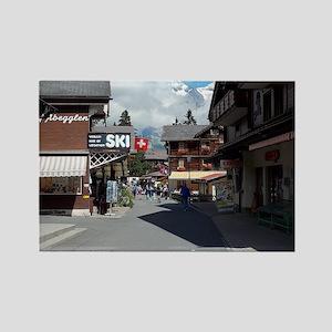 Murren, Switzerland Rectangle Magnet