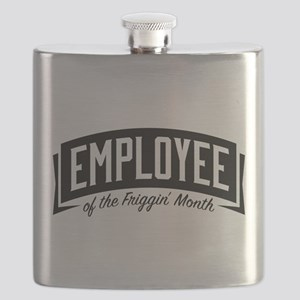 Employee of the Friggin' Month Flask