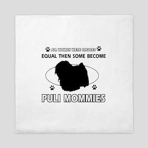 Become Puli mommy Queen Duvet