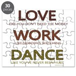 Love like you dont need the money Puzzle