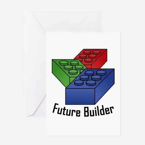 Future Builder Greeting Card