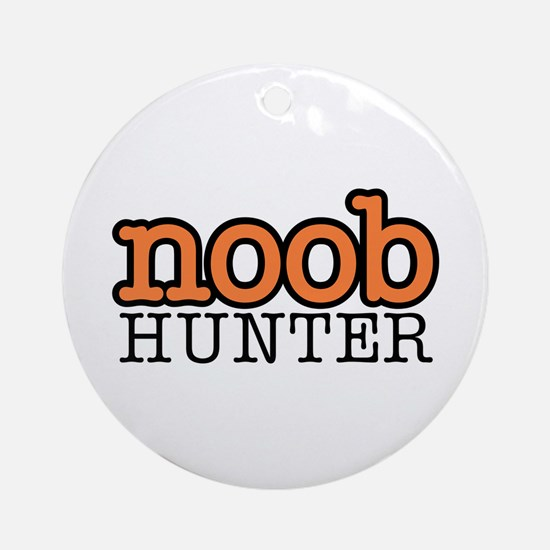 noob hunter Ornament (Round)