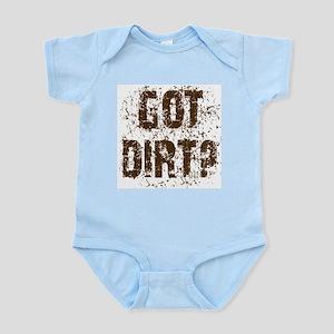 Got Dirt? Off Road 4x4 SUV  Infant Bodysuit