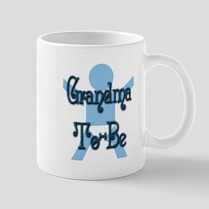 Blue Baby Grandma Mug