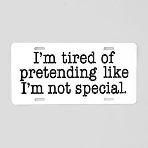 I'm Special Aluminum License Plate