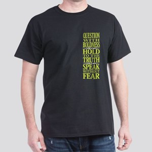 Question With Boldness Dark T-Shirt