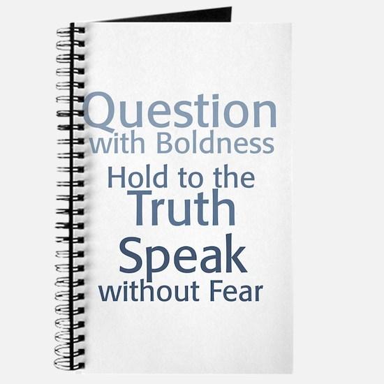 Question Speak Truth Journal