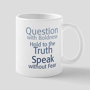 Question Speak Truth Mug