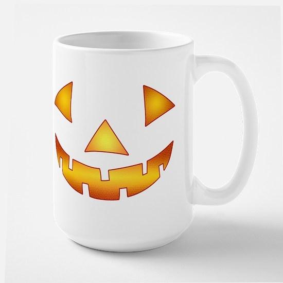 Jack-o-lantern Pumpkin Large Mug