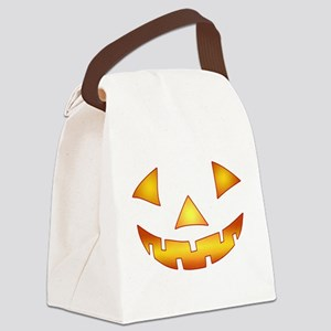 Jack-o-lantern Pumpkin Canvas Lunch Bag