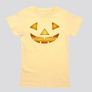 Jack-o-lantern Pumpkin Girl's Tee