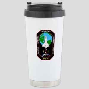 STS-70 Discovery Stainless Steel Travel Mug