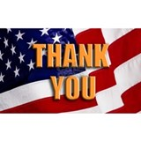 Thank you veterans Wall Decals