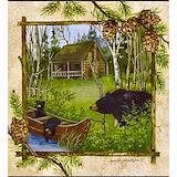 Black bears Bib