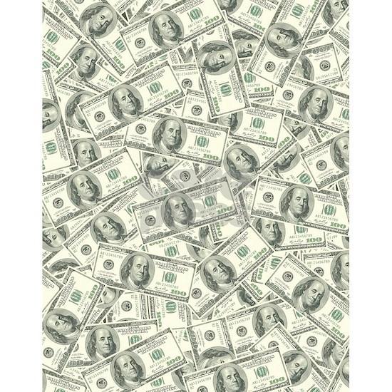 100 Dollar Bill Pattern