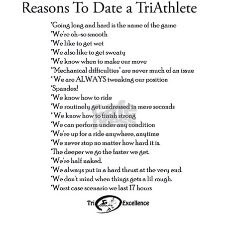 dating a triathlete