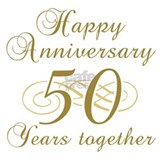 50th anniversary Wall Decals