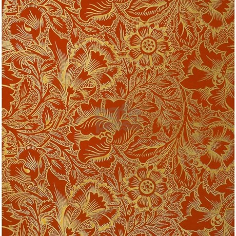 William Morris Poppy Shower Curtain by FineArtDesigns