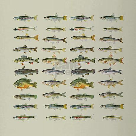 Freshwater Fish Chart Drinking Gl Favorite