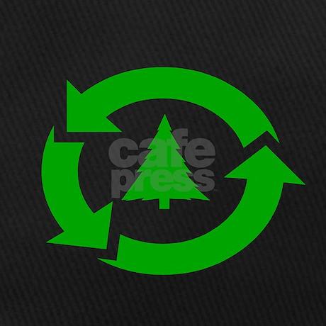 Earth Day Shirt Recycle Symbol Tree T Shirt Baseball Hat By