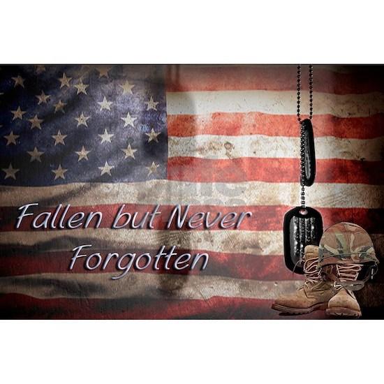Fallen but never forgotten