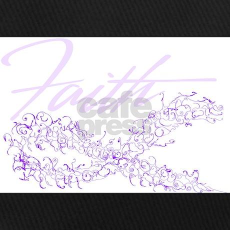 d176202c8f96f Purple Cancer Awareness Ribbon Baseball Hat by Admin CP70839509
