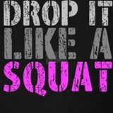 Drop it like a squat Tank Tops