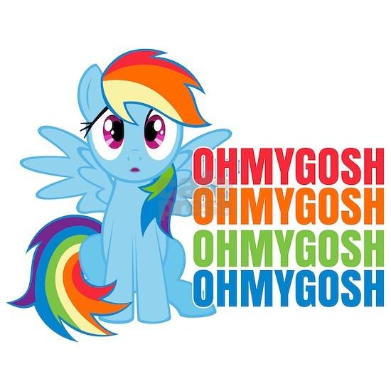 MLP Rainbow Dash OMG Dark