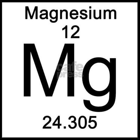 Periodic table magnesium tile coaster by sciencelady periodic table magnesium tile coaster favorite urtaz Image collections