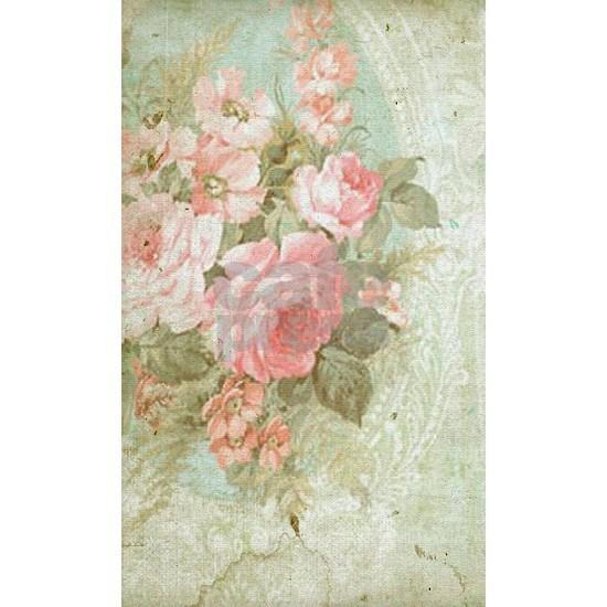 Chic vintage pink rose