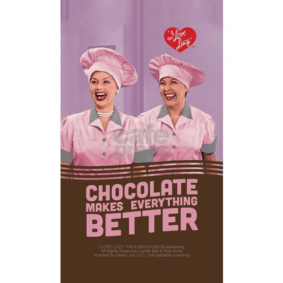 I Love Lucy: Chocolate Makes Everything Better Pho