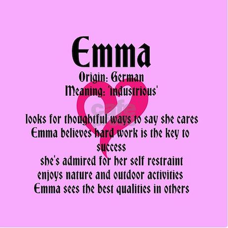 Emma Name Meaning Design Journal
