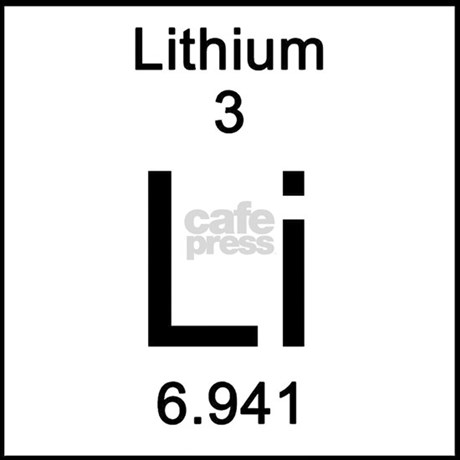 Periodic table lithium tile coaster by sciencelady periodic table lithium tile coaster periodic table lithium tile coaster urtaz Image collections