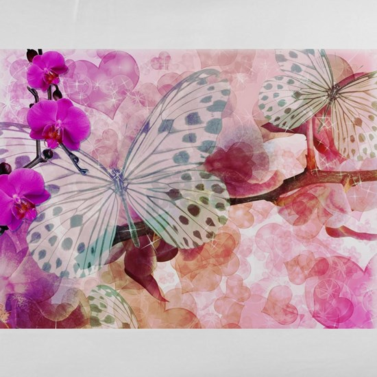 Orchids and Butterflies
