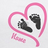 Baby feet personalized Tank Tops