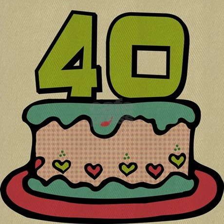 40 Year Old Birthday Cake Cap Design Is Printed Not Embroidered