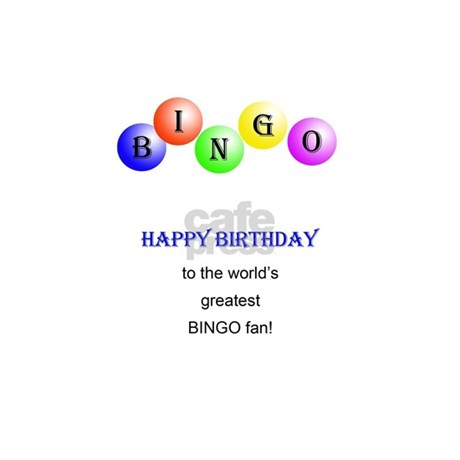 88th Birthday Bingo Card Greeting Cards By Supercards