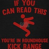 If you can read this you are in my roundhouse kick Tank Tops