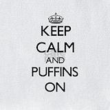 Atlantic puffins Bib
