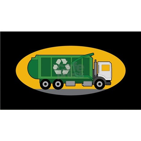 b2873834295 Recycling Truck Baseball Hat by Admin CP3083734