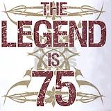 75th birthday Polos