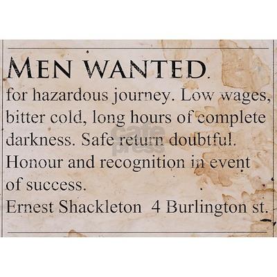 Shackleton Antarctica - Rectangle Magnet