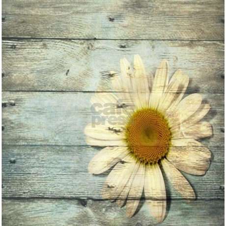 shabby chic country daisy Shower Curtain by listing-store-62325139