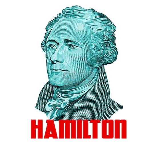 Alexander Hamilton in Green