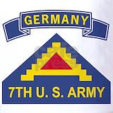 7th army insignia germany Polos