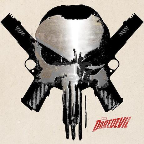 Punisher skull guns tote bag by marvelpunisher punisher skull guns tote bag front front design publicscrutiny Gallery
