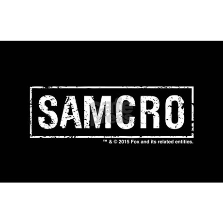 Samcro sticker rectangle favorite