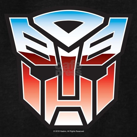 Transformers Autobot Symbol Hoodie Dark Cafepress